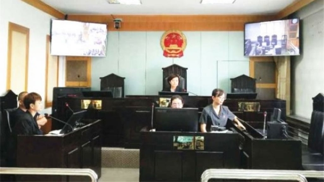 People's Court of Kuitun city in Xinjiang Uyghur Autonomous Region (from the Internet)