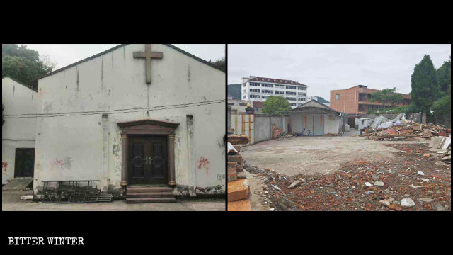 The gathering venue of a house church