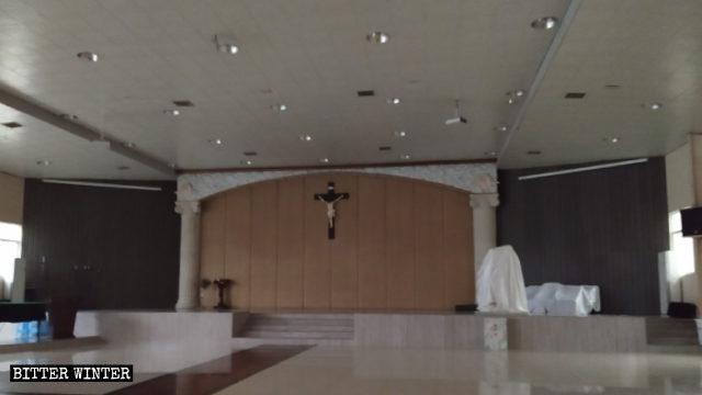 The Haiyan Church was cleared