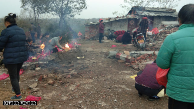 Temples Forcibly Demolished Across Henan