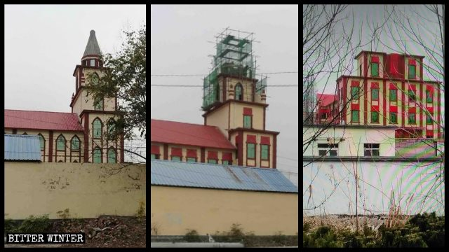 The Three-Self church in Tancheng county