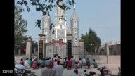 Catholics Pray Outside Their Shut Down Churches
