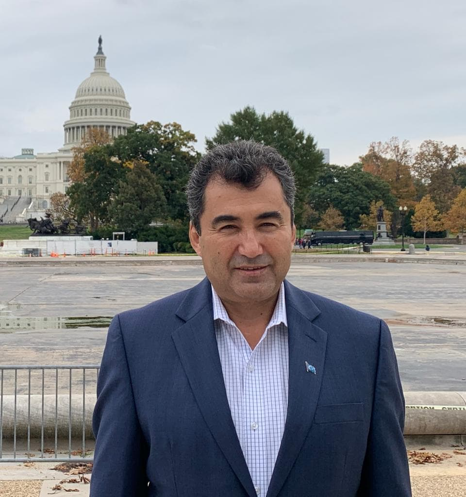 Abdulhakim Idris-Inspector General of the World Uyghur Congress (WUC)