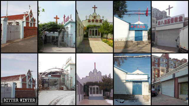 Over 300 Protestant Churches Closed in Two Provinces