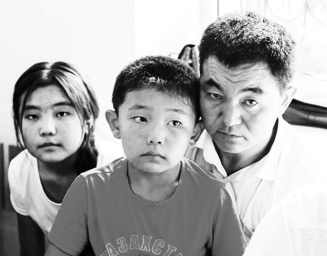 Sayragul Sauytbai's family.