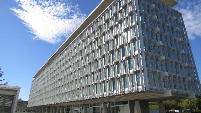 The WHO headquarters in Geneva
