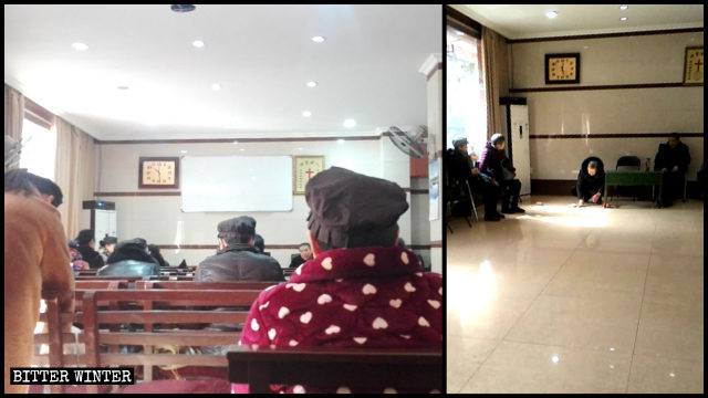 A house church in Hangzhou's Jianggan district was shut down on January 5.