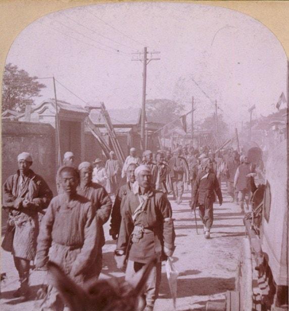 Boxer militias in Tientsin.