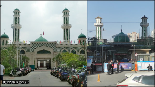 "The Niezhuang Mosque's minarets were remodeled to look ""more Chinese."""