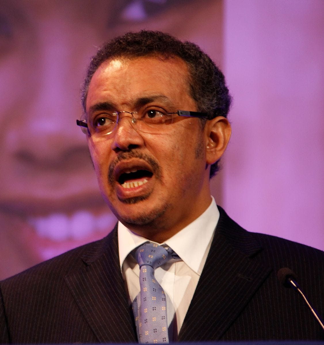 Dr. Tedros Adhanom Ghebreyesus, Minister of Health, Ethiopia, speaking at the London Summit on Family Planning