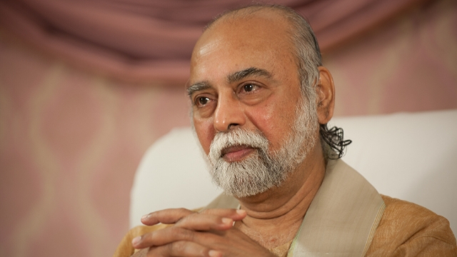 Sri Bhagavan, co-founder of the Oneness Movement, the main target of China's new crackdown on Indian spiritual groups.