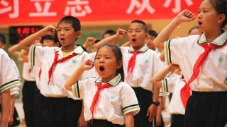 Kids Told to Praise the State and President on Children's Day