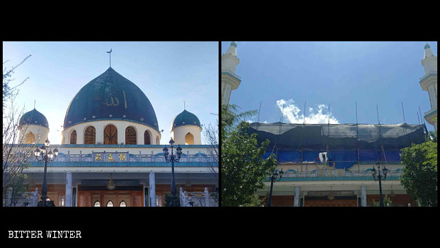 "The South Wuliqiao Mosque was ""sinicized"" in May."