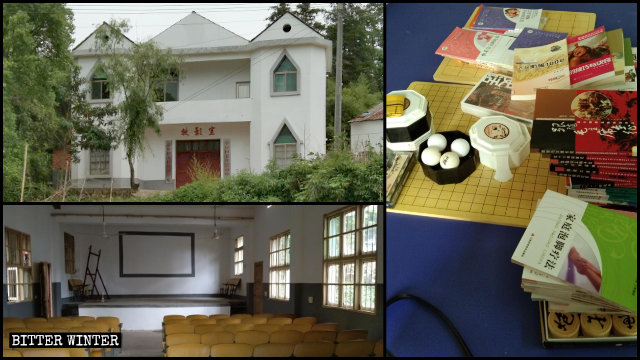 The Three-Self church in Qingshui township has been converted