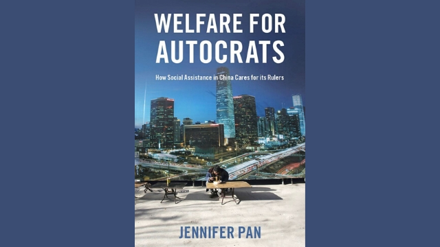 Welfare for Autocrats, by Jennifer Pan_bookcover
