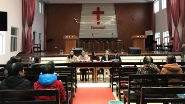 At the end of last year, officials from Qidong city in the eastern province of Jiangsu held elections for the administration of a Three-Self church.