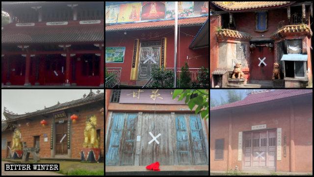 Many Buddhist temples shut down