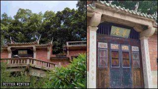 「中国化」の対象となるカオアンマニ教寺院