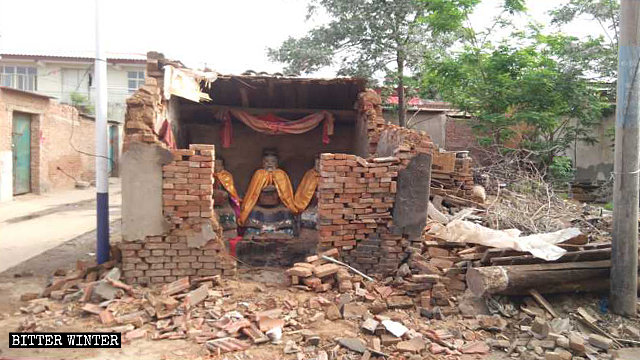 Numerous Folk Religion Temples Destroyed in Henan and Hebei