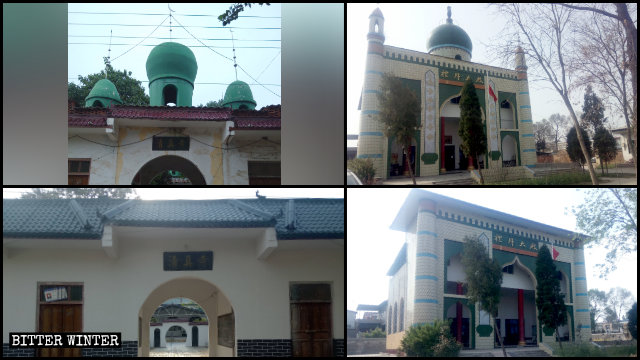 """Two mosques in Xuchang's Changge city have been """"sinicized."""""""