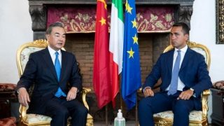 The Dragon and the Mouse: China Foreign Minister Meets Italian Colleague Amid Protest