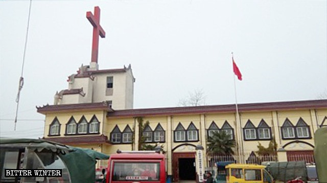 Crosses Removed from Churches Across Shandong Province