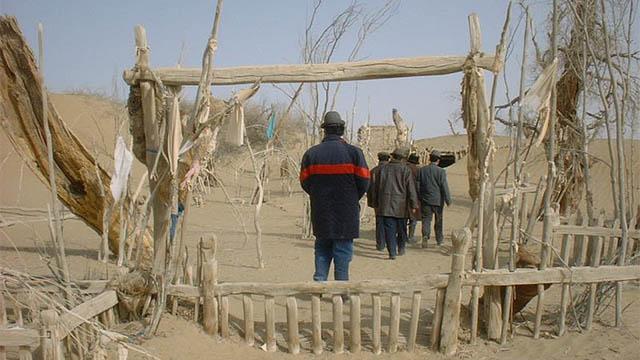 Imam Je firi Sadiq mazar before the destruction