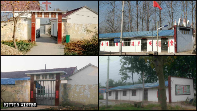 Church venues have been shut down across Jiangsu Province.