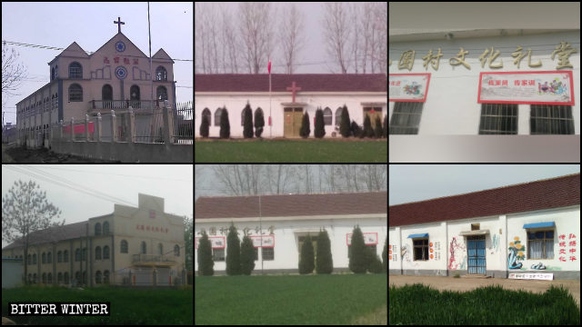 Numerous churches have been repurposed by the state.
