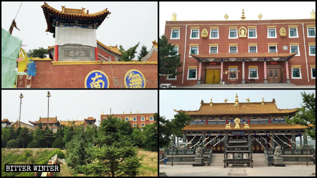 A Thousand-Year-Old Tibetan Buddhist Temple Destroyed in Shanxi
