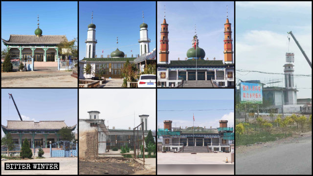 Mosques were rectified in various areas of Ningxia