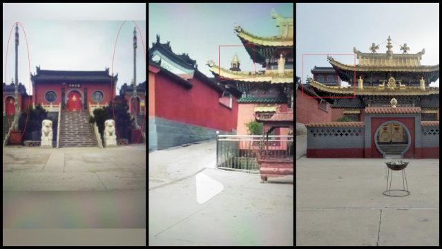 "The ""sinicized"" Huiquan Temple."