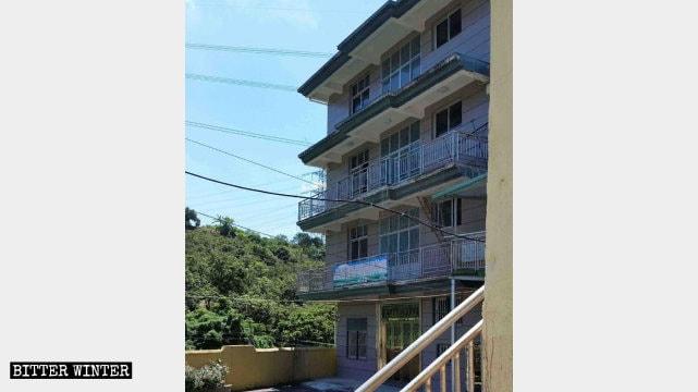 The 4-story Yangguan Love Nursing Home was closed in April.