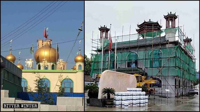 CCP Sinicizes Mosques to Weaken Muslim Faith