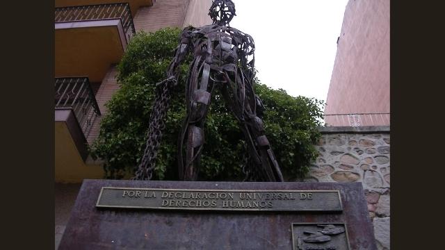 """Remembering Tiananmen,"" a work by Spanish sculptor José Antonio Elvira"