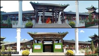 Buddhist, Taoist Temples and Statues Destroyed Nationwide