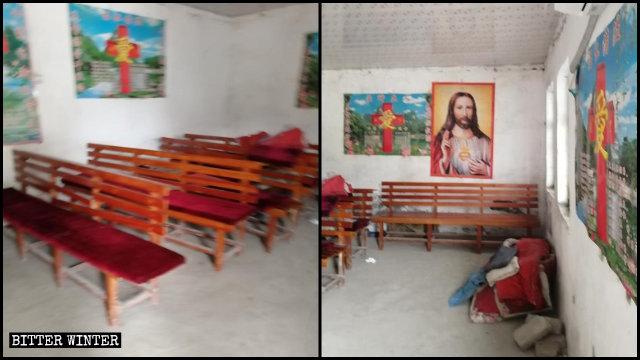 Three-Self Church venue before demolition