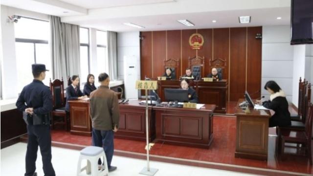 2020年に中国で裁判中のCAGメンバー。Weiboから。